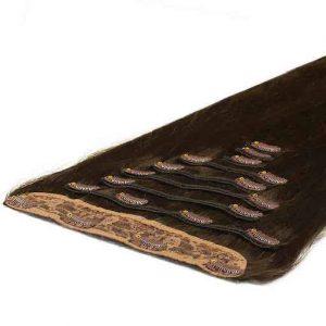 Deluxe Clip On 50cm 200g 04 Cokoladno Rjava-0