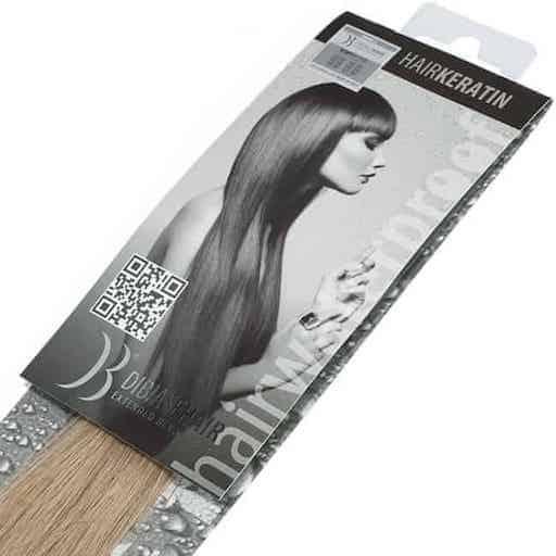 Keratinski podaljški Di Biase Hair 40cm 20pcs DB5-0