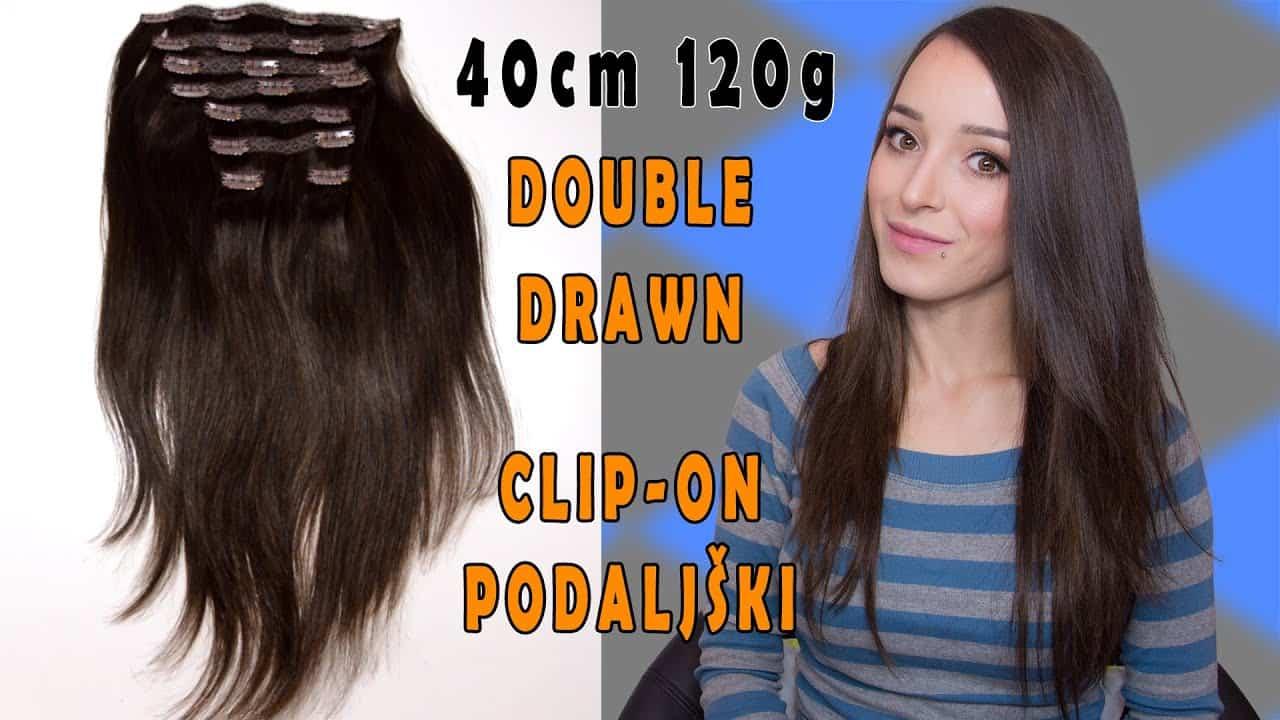 Premium clip on podaljški 40cm 120g