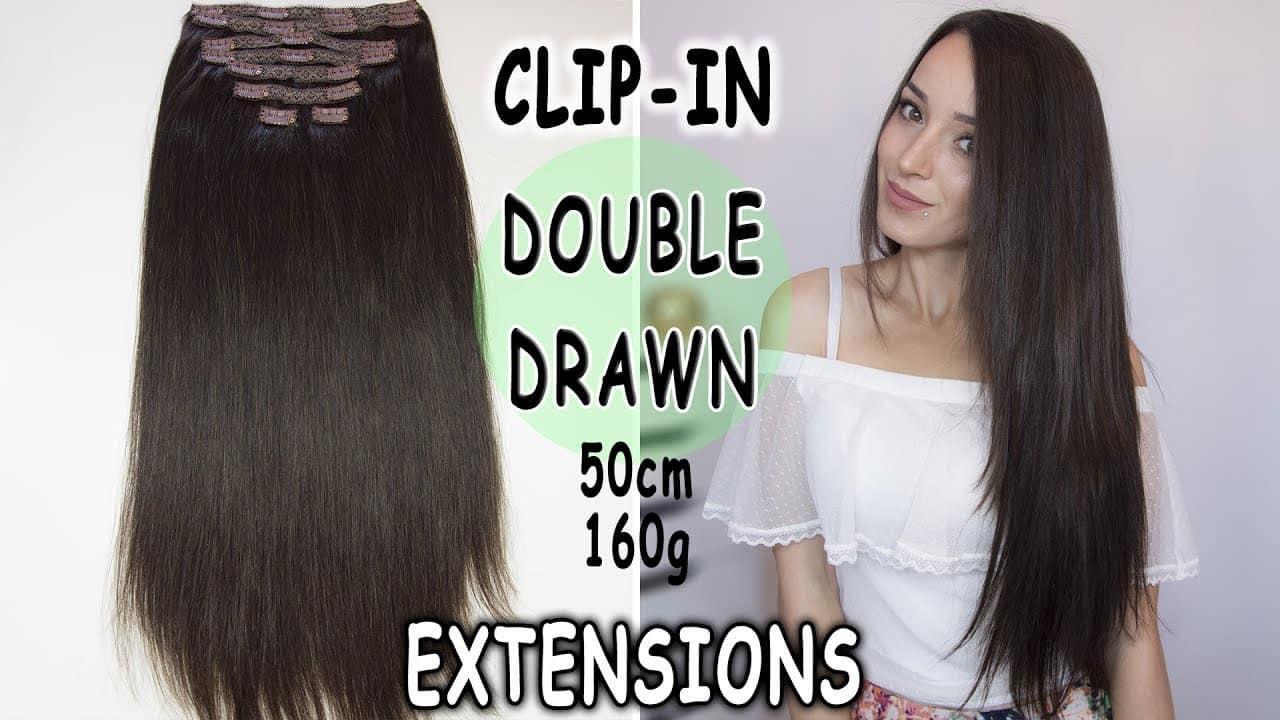 Premium clip on podaljški 50cm 160g
